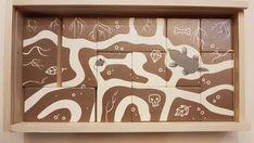 Premier jeu de réflexion, en bois naturel Puzzles, First Game, Natural Wood, Toys, Puzzle