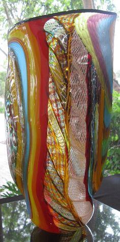 Massimiliano Schiavon 48 Murano Chandelier, Bernard Shaw, Glass Artwork, Unusual Art, Opaline, Murano Glass, Blown Glass, Tennessee, Sculpture