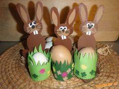 velikonoční dekorace zajíčci