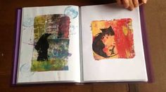 A selection of my favourite Gelli plate prints that I have created this year Join me in 2015 for a printing workshop B