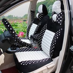 New Arrival Cute Roung Dot Style High Quality Pretty Seat Cover