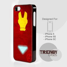 iPhone Case The Avengers Iron Man, iPhone 4/4S/4G Case, iPhone 5/5S/5C, Samsung galaxy S3/S4