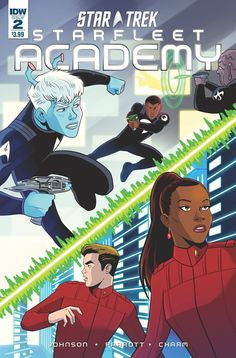 Don't miss the latest chapter of the blockbuster mini-series that introduces a brave new cast of cadets to Star Trek lore! What is the mystery at the heart of Starfleet that connects this new crew to