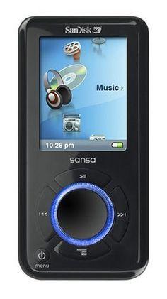 SanDisk Sansa e200 MP3 Player