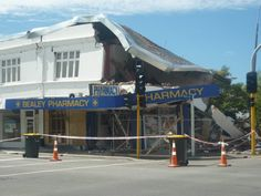 The reason why we left CHCH. Earthquake. Miss it.