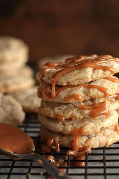 Caramel Macchiato Cookies - www.countrycleaver.com @countrycleaver