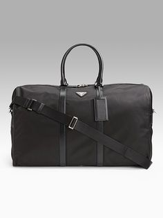 ad83eb15c1 Prada Mens Nylon Duffle Bag 1 Mens Work Bags