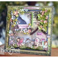 Gallery | Fairies And Flowers Scene Layout - Heartfelt Creations