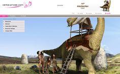 La inauguración del VP summer camp 2012 ha corrido a cargo del Diplodocus Express, ¿Quién se apunta al viaje?  #venteprivee #VPSummerCamp #Dinosaurio #webdesign