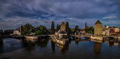 Strasbourg Blick auf die City HDR by Björn Dohlich on 500px