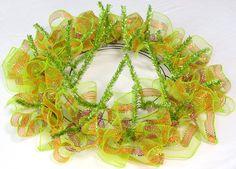 Ruffle Wreath- Step 7