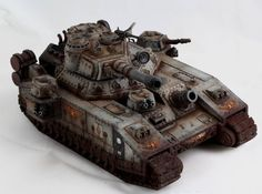 The Internet's largest gallery of painted miniatures, with a large repository of how-to articles on miniature painting 40k Imperial Guard, Imperial Knight, Apocalypse, Warhammer 40k Space Wolves, Tactical Truck, Fantasy Battle, Warhammer Models, Warhammer 40k Miniatures, Cool Tanks