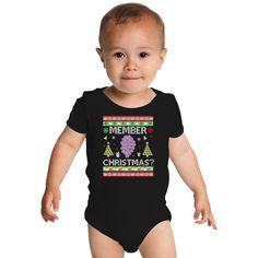 Member Berries Ugly Sweater Baby Onesies