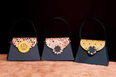cute handbags made from stampin up petite purse die