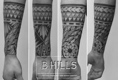 And we got loads more! Body Art Tattoos, Hand Tattoos, Sleeve Tattoos, Maori Tattoos, Tatoos, Polynesian Tattoo Designs, Maori Tattoo Designs, Forearm Tattoo Men, Arm Band Tattoo