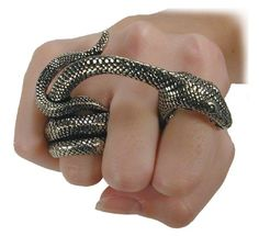 Gothic Snake Ring - 49$