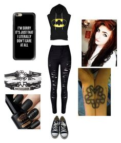 """Black Veil Brides"" by bands05 on Polyvore featuring Casetify and Converse"