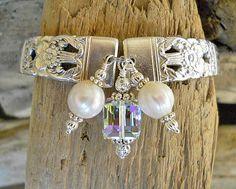 Spoon Bracelet Coronation Silver Plated Spoon by wearetheedge