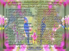 Zdrowe Ciało  = Zdrowy Duch  C-iało, U-mysł, D-usza = CUD www.jasnowidzjacek.blogspot.com