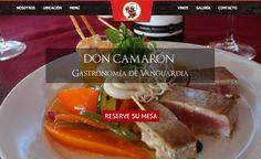 Web Servicios Restaurant Don Camaron ©2014 www.restaurantdoncamaron.cl