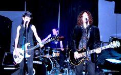 Alan Merrill Band at the Bowery Electric NYC. Alan Merrill, Mark Brotter Amy Madden. Photo by Lisa Jane Cordella.- Nov. 21, 2014 #alanmerrill