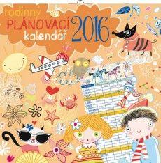 Kalendář 2016 - Rodinný plánovací kalendář