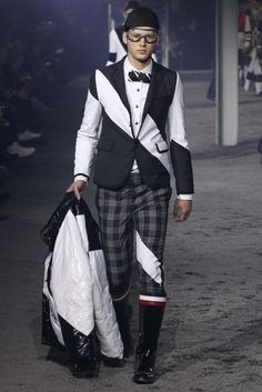 Nobles/Trinculo-Moncler Gamme Bleu Fall 2015 Menswear - Collection - Gallery - Style.com