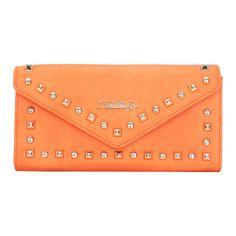 $16.98 at Amazon bit.ly/AITBAGS-rivet-wallets #Rivet #Wallets #women Orange Poppy, Continental Wallet, Poppies, Wallets, Style Inspiration, Amazon, Women, Amazons, Riding Habit