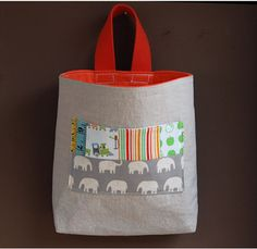 hanging bags for kiddy stuff