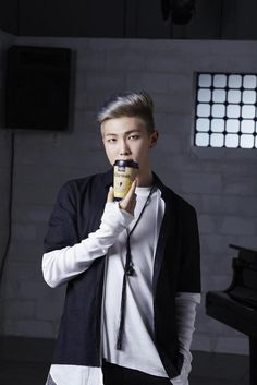 Rap Monster for K'ha Wah Coffee