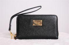 Rits tas van hoge kwaliteit vrouwen michael korss mks portemonnee geval voor iphone van apple + gratis