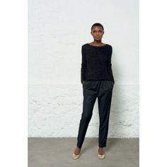 pantalon tabata noir @ DES PETITS HAUTS