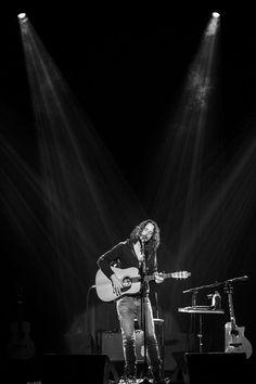 Chris Cornell performs at Teatro Bradesco on December 8, 2016 in Rio de Janeiro, Brazil.