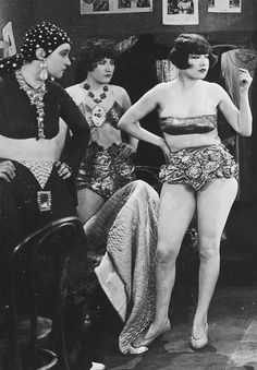 deforest:  Uncredited entertainers in a scene from the film The Midnight Sun (1926)