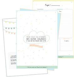 Un kit pour s'organiser - Diy Organisation Diy Organisation, Organization Bullet Journal, Agenda Organization, Agenda Planner, Happy Planner, Filofax, Bujo, Organized Mom, Planning And Organizing