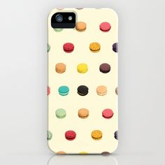 Macaron Fest iPhone Case by Electric Avenue