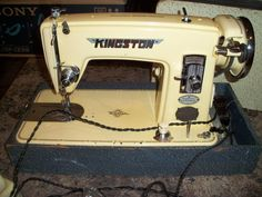 Vintage Brother Kingston Deluxe Precision Window-Matic Sewing Machine HA4-B1