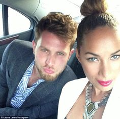 Leona Lewis and her boyfriend