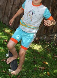 Design-Beispiel von Verena Krieger Summer Rockies Gr. 110-146 für www.almfee.de