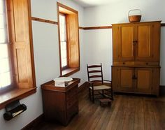 Love the deep window recesses with wood sills.  Hancock Shaker Village.  Photo by Linda Griffith.