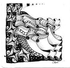 Open Seed Arts: Cadent is Calling! by Carol Ohl, Certified Zentangle Teacher
