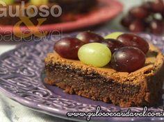 Torta Brownie de Creme de Avelã