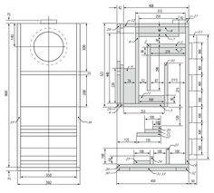 Fostex FE206En Back-Loaded Horn Speaker Enclosure Plan