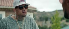 03d2cb09c574 Tom Ford sunglasses and NBA x Detroit Pistons cap worn by Chris Brown in YOU  CHANGED