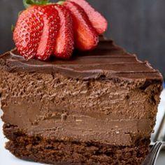 #çikolata #çilek #pasta