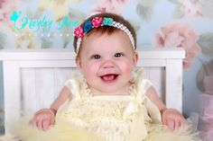 Calgary Baby Photographer, Baby session ideas, Calgary Baby Pictures.   Such a sweet little 7 month old baby girl!!