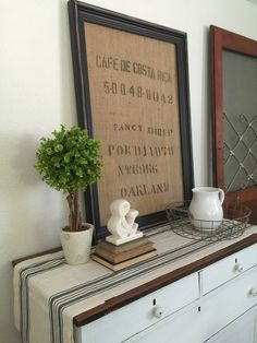 Love the look of burlap coffee bags but not sure how to display it? This DIY framed burlap coffee bag is a simple and great way to display them. Burlap Coffee Bags, Coffee Sacks, Biggby Coffee, Rustic Vintage Decor, Nitro Coffee, Framed Burlap, Burlap Sacks, Fancy, Coffee Pods