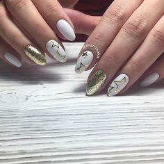 142 отметок «Нравится», 1 комментариев — Ногти | Маникюр | Nails (@dizajn_nogtej) в Instagram: «Мастер @marrinaka #dizajn_nogtej #маникюр #ногти #красивыйманикюр #красивыеногти #идеиманикюра…»