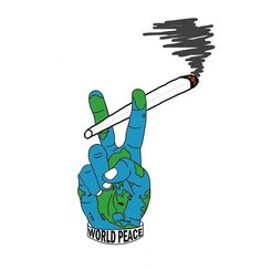 Peace and weed!