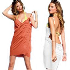 Sexy Fashion Wrap Front Swimwear Bikini Dress Cover Up Casual Skirt $8.30 #bestseller